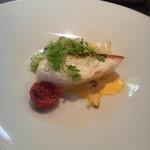 スミレオオサカ - 魚料理は鯛