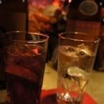 ゴールデン ボール - カシスソーダ