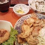 3767133 - 生姜焼き定食