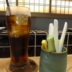 天ぷらチャンピオン - 烏龍茶 スティック野菜