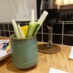 天ぷらチャンピオン - 赤ワイン スティック野菜