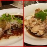 施家菜 - アコウの中華蒸し魚