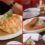 施家菜 - 蟹2種(縞石蟹、石蟹)の紹興酒バター