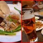 施家菜 - ミル貝の湯引き中華風刺身
