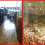 施家菜 - 店内には大きな水槽が・・沢山の魚介が・・