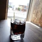 マーレマーレ - 2014年4月 パスタランチのドリンクはアイスコーヒーで