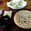 ナチュラルイン翠山 - 料理写真:山菜の天ぷら、十割そば(並み)