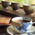 ぎゃらりー茶屋 膳 - ドリンク写真:サイフォンで淹れたコーヒー