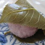 和菓子司 松葉堂 - さくら餅