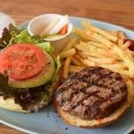 オールウェイズカフェ - ハンバーガープレート