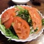 鰻 まるだい - サラダ