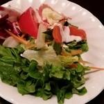ステーキハウスニューテキサス - 息子の豪華サラダ