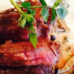 anjir - 牛ハラミのステーキ