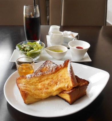 IZ珈琲 - ハニーフレンチトーストモーニングとダッチアイスコーヒー
