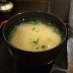 酒樂亭 - あさりのお味噌汁