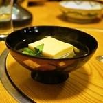 板前 石山光一 - 2015.5 玉子豆腐のお吸い物