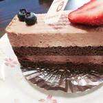 ラ・クレマンティーヌ - ミルクチョコレートとスイートチョコレート390円