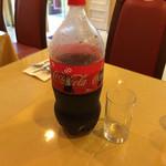 37687944 - ビリヤニに付くドリンクにコーラを選択したらこれが出てきました