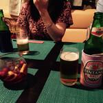 37688519 - ビンタンビールとフルーツたっぷりのサングリア