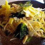 Ryuuhou - これが新筍鶏合え麺です
