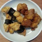 とりよし - 中華風から揚、のり巻から揚