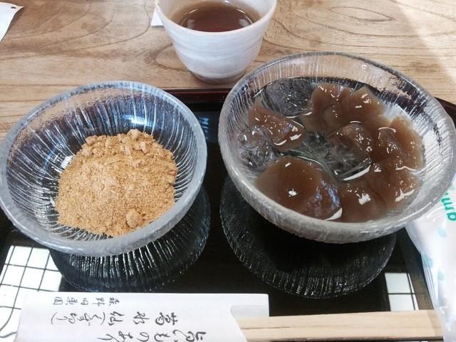 茶房 葛味庵 - 蕨もち♪