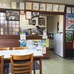 ふみや食堂 - 店内