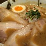 中華そば 石黒 - 肉にぼ(970円)