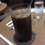 銀座トリコロール - アイスコーヒー美味い