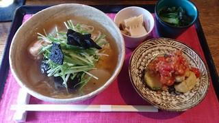 なると屋+典座 - うどん+惣菜三品