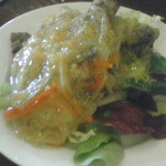 レストラン パブロ - とらはぜのエスカベッチェ(南蛮漬け)
