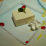 日本料理 ひよく - 豆腐チーズケーキ