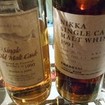 BAR noise - CLYNELISH 1990-2004(Acredyke)とNIKKA SINGLE CASK 1991