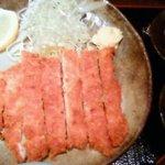 郷どり 燦鶏 - びっくりチキンカツ丼