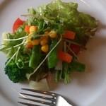 カフェレストランおきらく亭 - 料理写真:サラダ