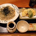 37703118 - お野菜の天ざる ¥1100