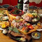 国分寺 魚しげ - ご宴会に飲み放題コースございます。4000円~