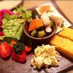 プチット リュ - 前菜の盛り合わせ