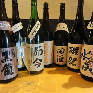 プレミアム日本酒を味わって頂きたい!