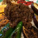 アホロートル - とても変わった野菜カレーでした