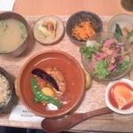 畑の食堂 ナチュラ - 玄米定食 税込950円