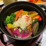 ベヂロカ - 彩り野菜のストウブ鍋