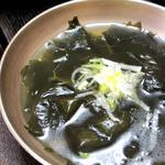 古宮道 - わかめスープ