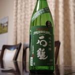 石鎚酒造株式会社 - ドリンク写真:純米吟醸石鎚