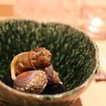 鮨 近藤 - 北海道のツブ貝