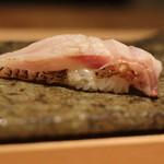 鮨 近藤 - ノドグロの炙り