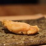 鮨 近藤 - これは何の貝だったっけ???