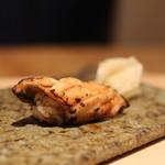 鮨 近藤 - 穴子の炙り