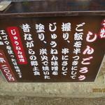 37712725 - メニュー板