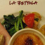 ラ・ベットラ・ダ・オチアイ - 前菜盛り合わせ